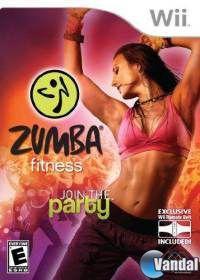 Portada oficial de Zumba Fitness 2 para Wii
