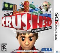 Portada oficial de Crush 3D para Nintendo 3DS