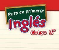 Portada oficial de Éxito en primaria Inglés Curso 3º DSiW para NDS
