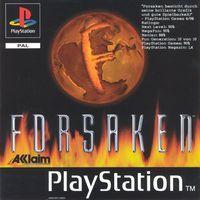 Portada oficial de Forsaken para PS One