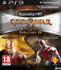 Portada oficial de God of War Collection Volume II para PS3
