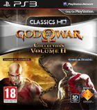 Portada oficial de de God of War Collection Volume II para PS3