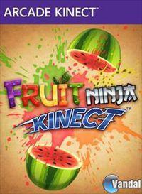 Portada oficial de Fruit Ninja Kinect XBLA para Xbox 360