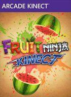 Portada oficial de de Fruit Ninja Kinect XBLA para Xbox 360