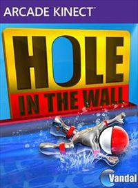 Portada oficial de Hole in the Wall Kinect XBLA para Xbox 360