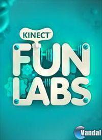 Portada oficial de Kinect Fun Lab para Xbox 360