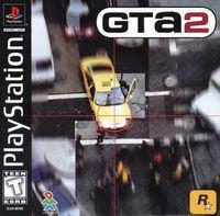 Portada oficial de Grand Theft Auto 2 para PS One