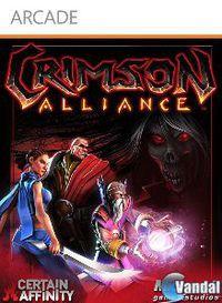 Portada oficial de Crimson Alliance XBLA para Xbox 360