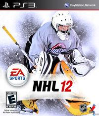 Portada oficial de NHL 12 para PS3