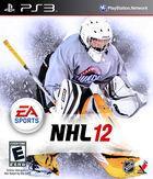 Portada oficial de de NHL 12 para PS3