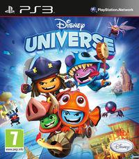 Portada oficial de Disney Universe para PS3