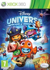 Portada oficial de Disney Universe para Xbox 360