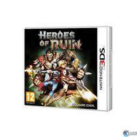 Portada oficial de Heroes of Ruin para Nintendo 3DS
