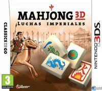 Portada oficial de Mahjong CUB3D para Nintendo 3DS