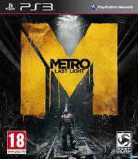 Portada oficial de Metro: Last Light para PS3