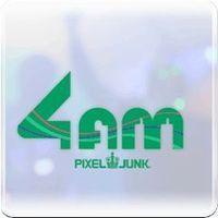 Portada oficial de PixelJunk 4am PSN para PS3