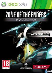 Portada oficial de Zone of the Enders HD Collection para Xbox 360
