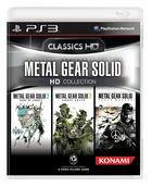Portada oficial de de Metal Gear Solid HD Collection para PS3