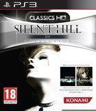 Portada oficial de de Silent Hill HD Collection para PS3