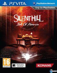 Portada oficial de Silent Hill: Book of Memories para PSVITA