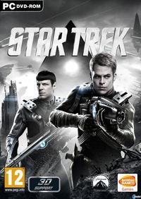 Portada oficial de Star Trek para PC