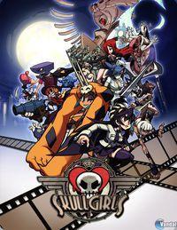 Portada oficial de Skullgirls PSN para PS3