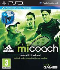 Portada oficial de MiCoach para PS3