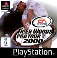 Portada oficial de Tiger Woods PGA 2000 para PS One