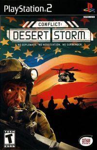 Portada oficial de Conflict: Desert Storm para PS2