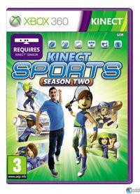 Portada oficial de Kinect Sports: Segunda temporada para Xbox 360