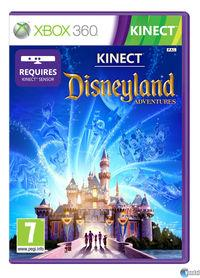 Portada oficial de Kinect Disneyland Adventures para Xbox 360