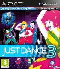 Portada oficial de Just Dance 3 para PS3
