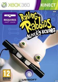 Portada oficial de Rabbids: Vivitos & oKupando el salón para Xbox 360