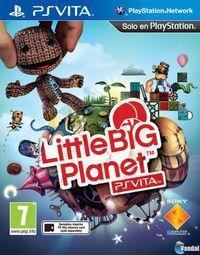 Portada oficial de LittleBigPlanet Vita para PSVITA