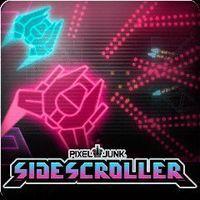 Portada oficial de PixelJunk SideScroller PSN para PS3