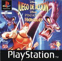 Portada oficial de Hercules para PS One