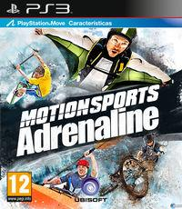 Portada oficial de Motionsports Adrenaline para PS3