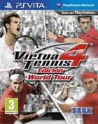 Portada oficial de de Virtua Tennis 4: Edición World Tour para PSVITA