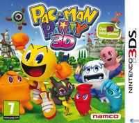 Portada oficial de Pac-Man Party 3D para Nintendo 3DS