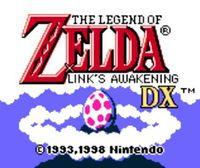 Portada oficial de The Legend of Zelda: Link's Awakening Game Boy CV para Nintendo 3DS