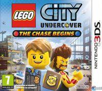 Portada oficial de LEGO City Undercover: The Chase Begins para Nintendo 3DS