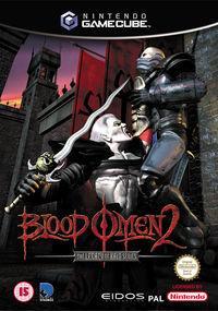 Portada oficial de Legacy of Kain: Blood Omen 2 para GameCube