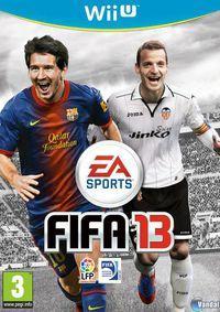 Portada oficial de FIFA 13 para Wii U