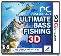 Portada oficial de Angler's Club: Ultimate Bass Fishing 3D para Nintendo 3DS