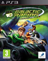 Portada oficial de Ben 10 Galactic Racing para PS3