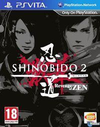 Portada oficial de Shinobido 2: Revenge of Zen para PSVITA