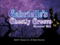 Portada oficial de Gabrielle's Ghostly Groove: Monster Mix WiiW para Wii