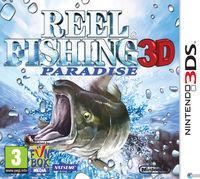 Portada oficial de Reel Fishing Paradise 3D para Nintendo 3DS
