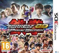 Portada oficial de Tekken 3D Prime Edition para Nintendo 3DS