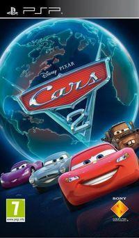 Portada oficial de Cars 2: El Videojuego para PSP
